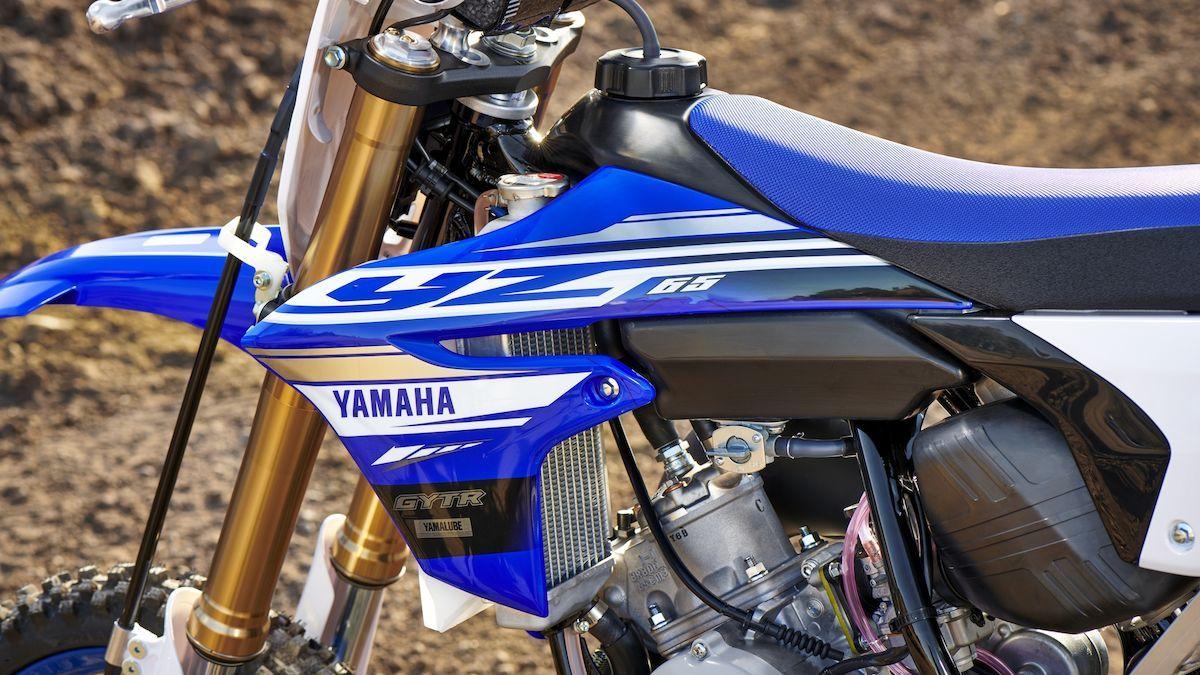 Yamaha 2018 YZ65 maniabilité stabilité