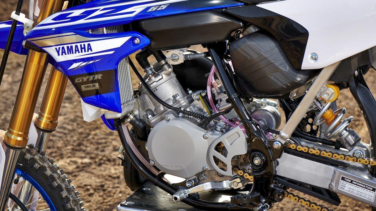 Yamaha 2018 YZ65 puissance uniforme