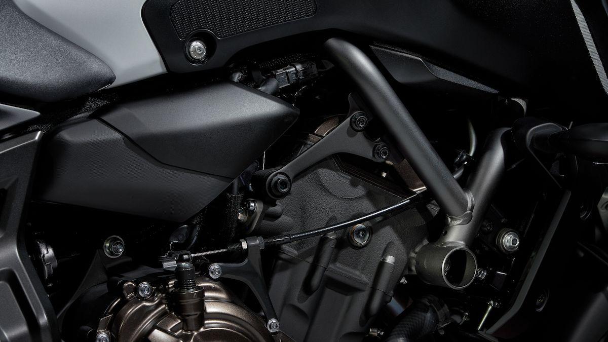 Yamaha MT-07 2019 cadre tubulaire