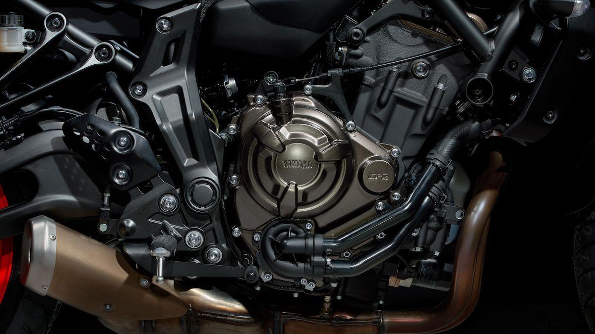 Yamaha MT-07 2019 moteur bicylindre