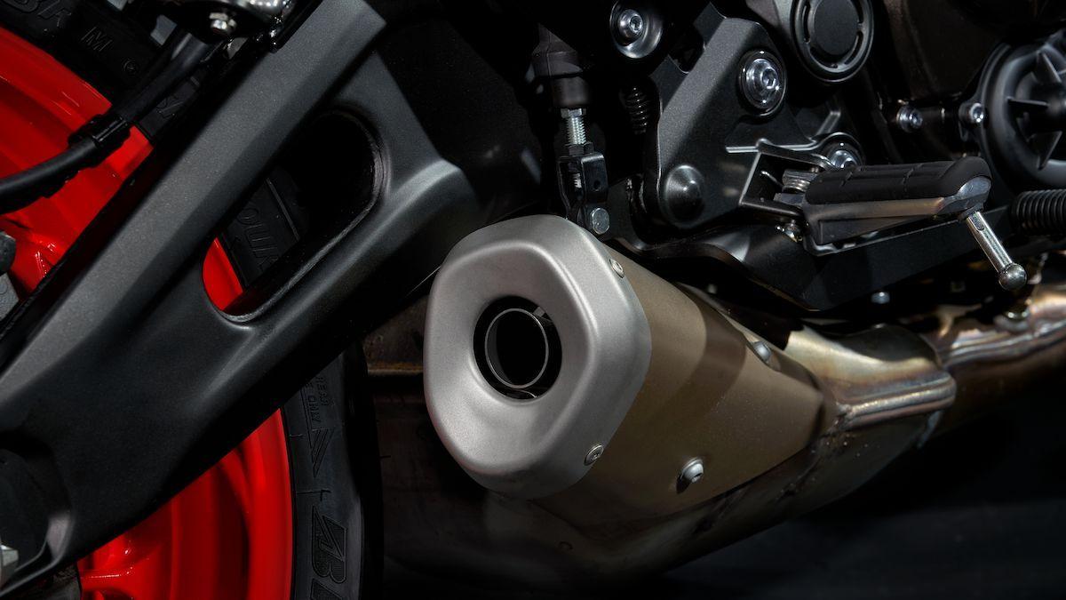 Yamaha MT-07 2019 poids à vide léger