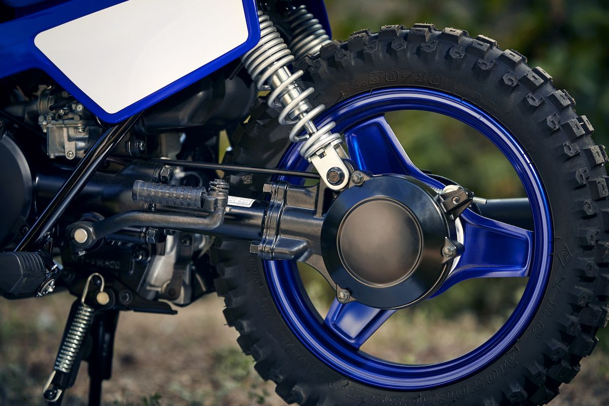 Yamaha 2019 PW50 roues acier