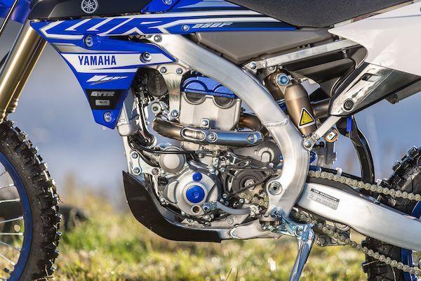 Yamaha 2019 WR250F culasse inversée