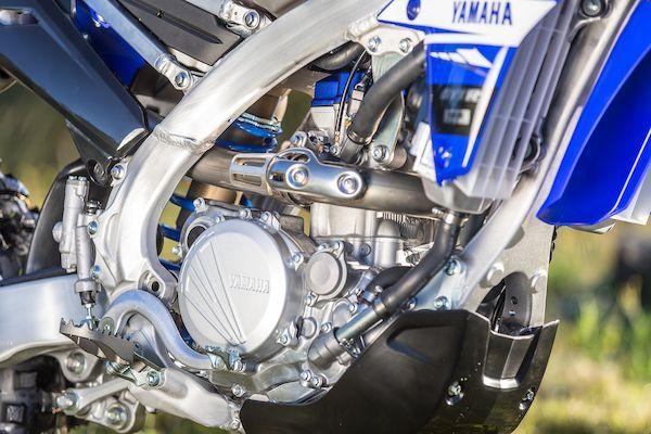 Yamaha 2019 WR250F nouveau châssis