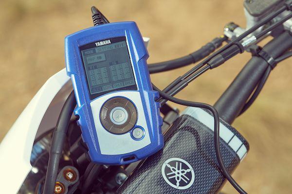 Yamaha 2019 WR250F power tuner