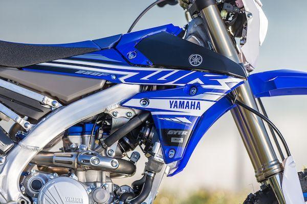 Yamaha 2019 WR250F suspensions optimisés