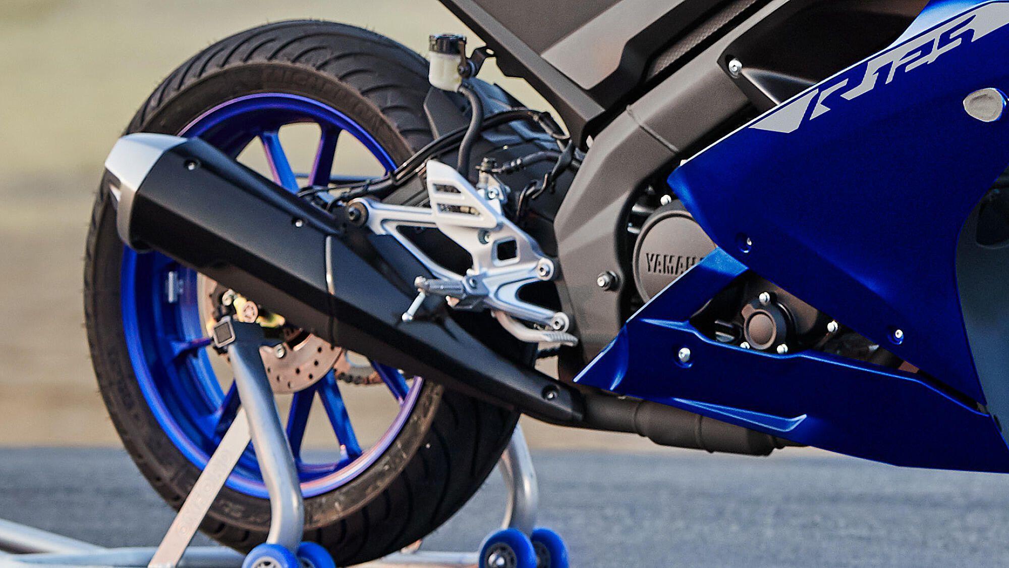 Yamaha 2021 YZF R125 Performances combustion