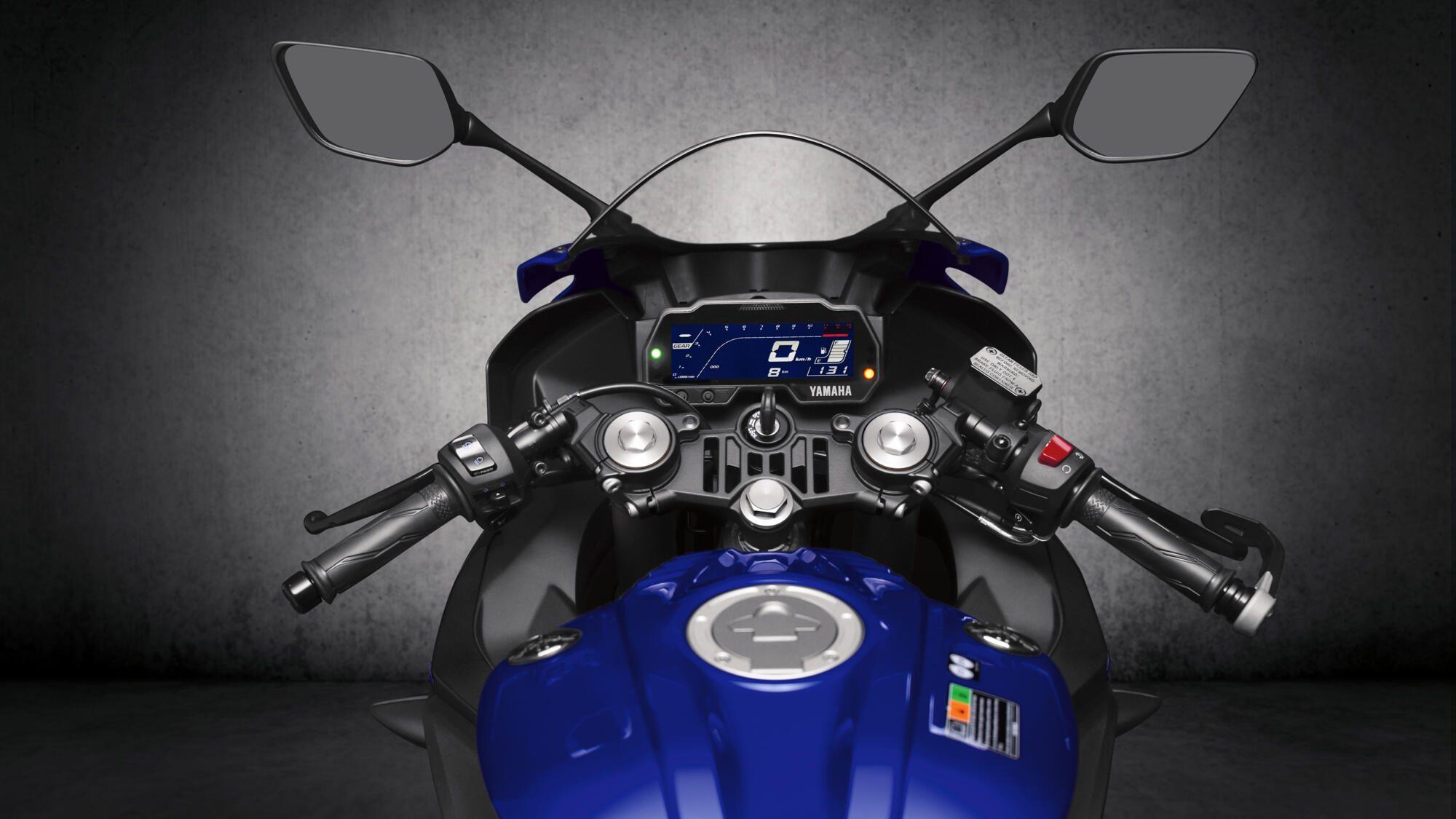 Yamaha 2021 YZF R125 poste pilotage