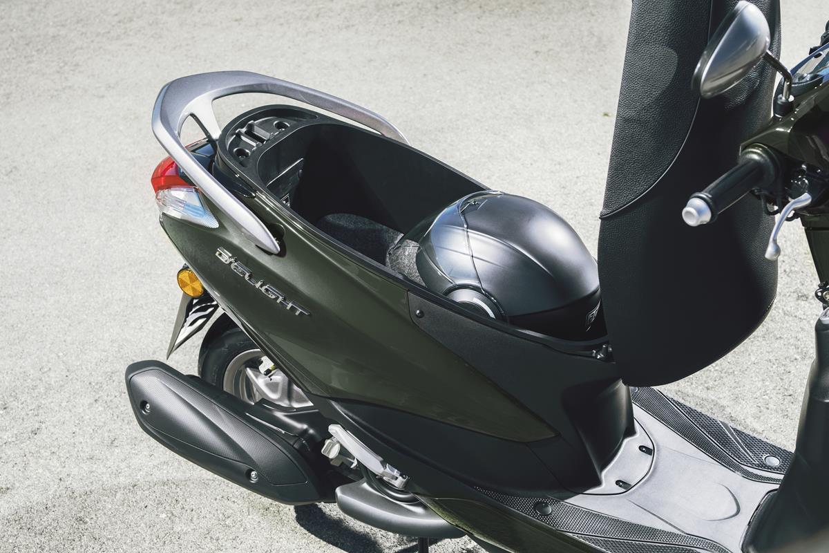 Scooter Yamaha D'elight 125 2018 - Nombreux espaces de rangement