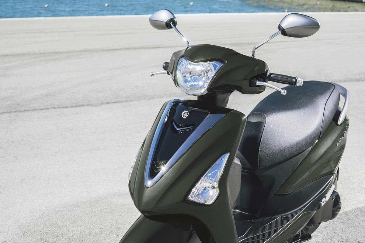 Scooter Yamaha D'elight 125 2018 - Habillage élégant, séduisant et compact