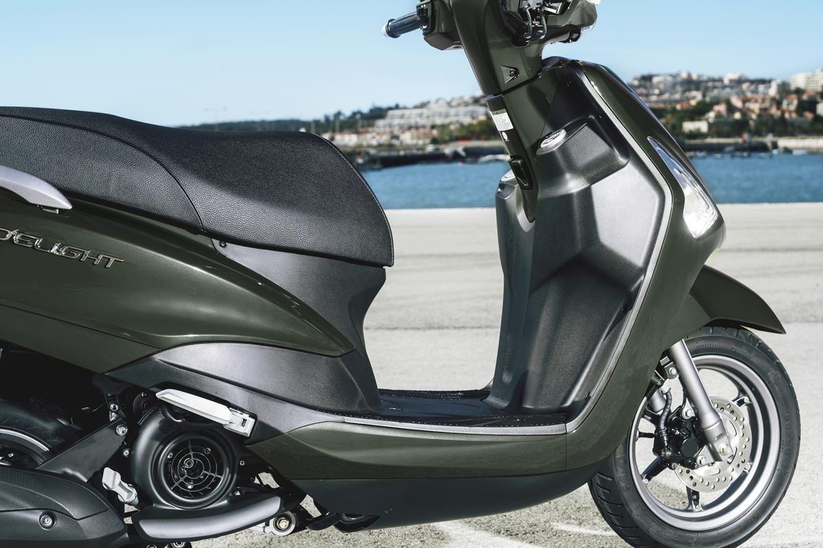 Scooter Yamaha D'elight 125 2018 - Léger, agile et maniable
