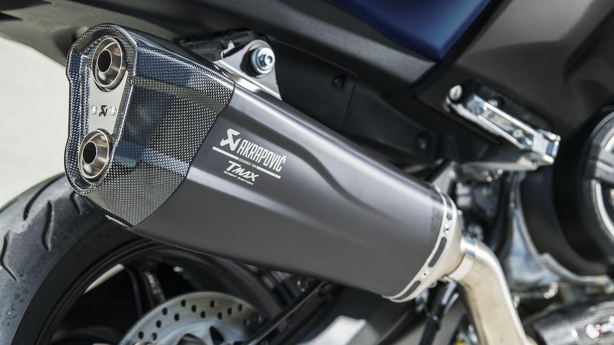 Yamaha 2019 TMAX SX Sport Edition echappement akrapovic